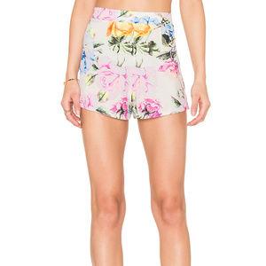 Show Me Your MuMu Martine Short Floral Shorts